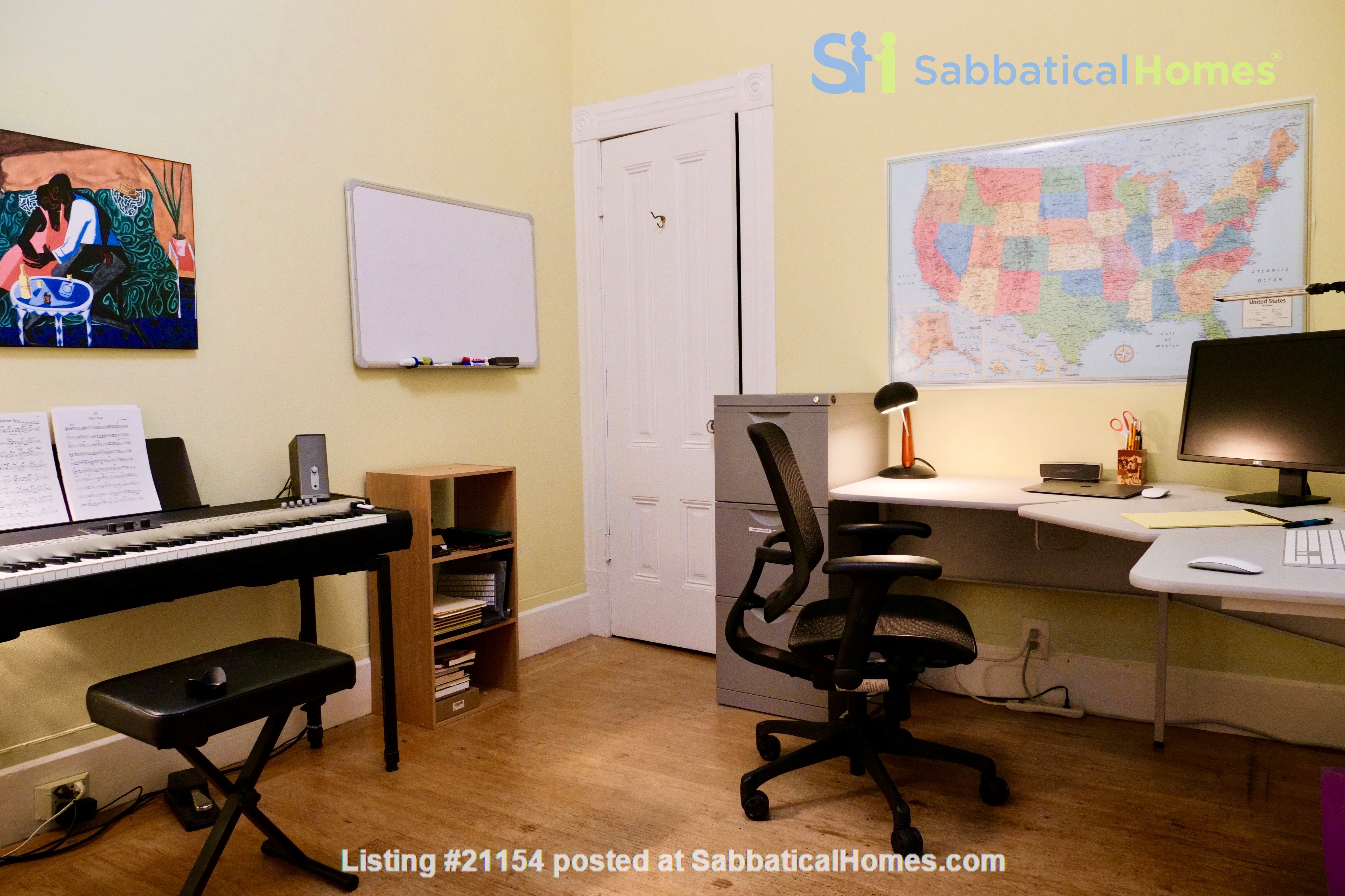 Spacious Sunny Mission Home with Garden & Parking Home Rental in San Francisco 6
