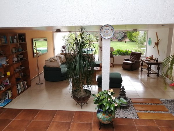 Large pleasant house with garden Mexico City Home Exchange in Mexico City 2 - thumbnail