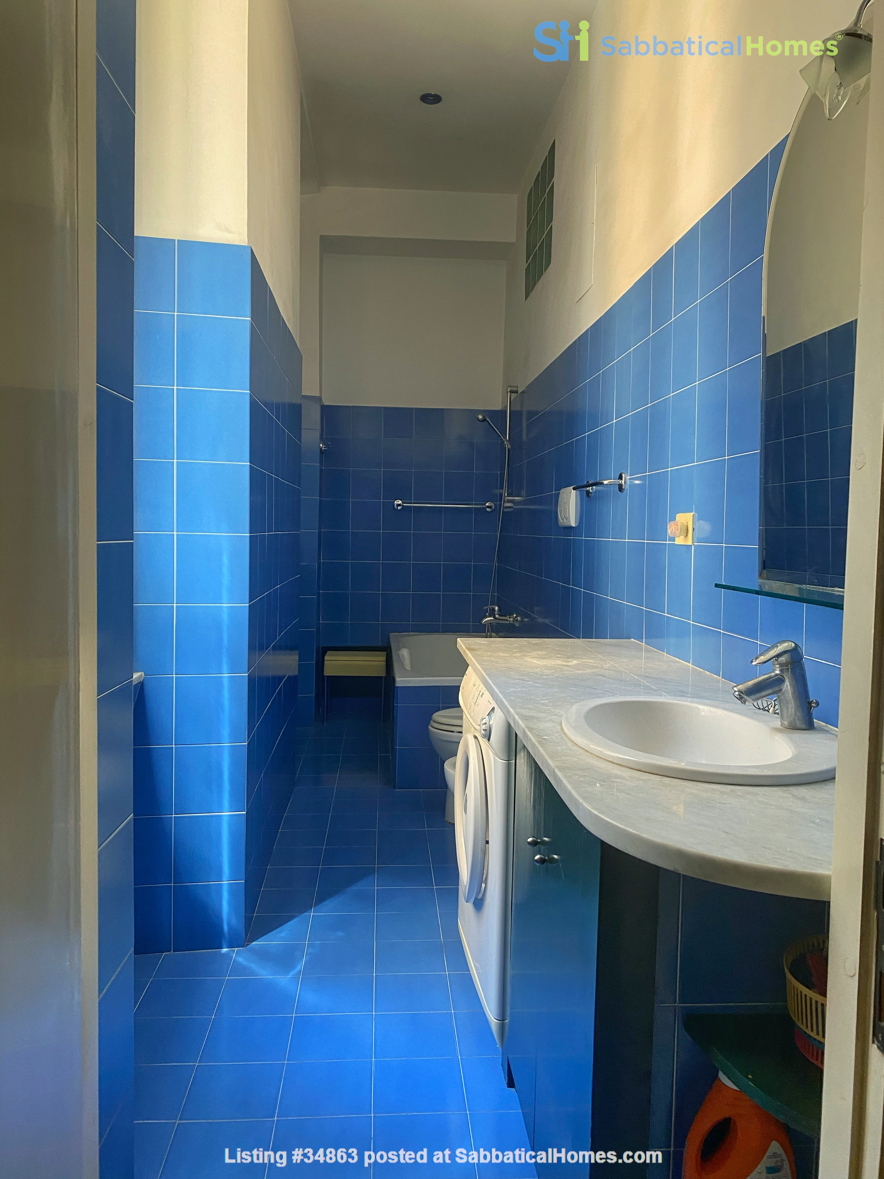 2 BR, 2 BA, spacious and comfortable apartment in Rome, Trastevere Home Rental in Rome 7