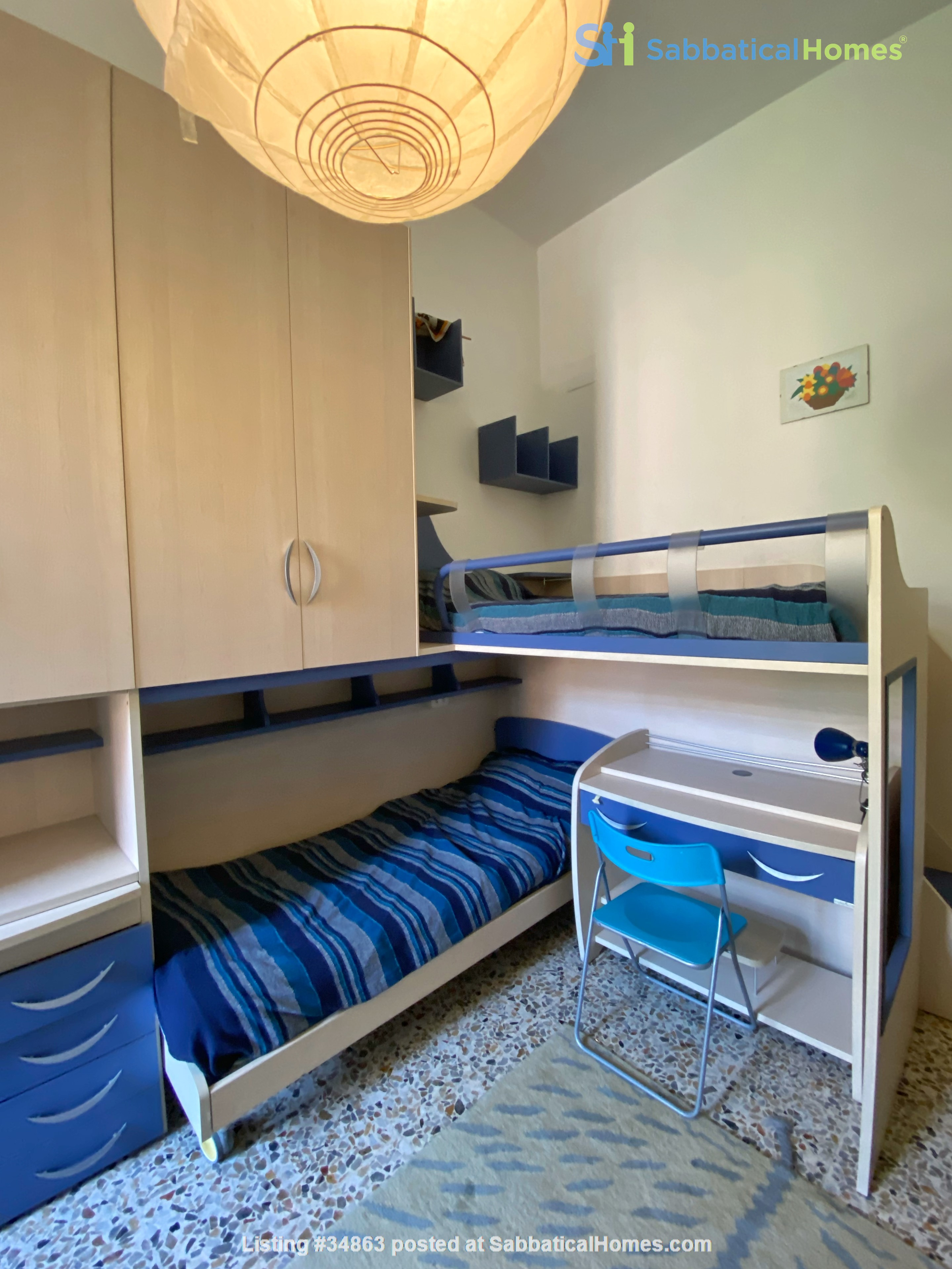 2 BR, 2 BA, spacious and comfortable apartment in Rome, Trastevere Home Rental in Rome 6
