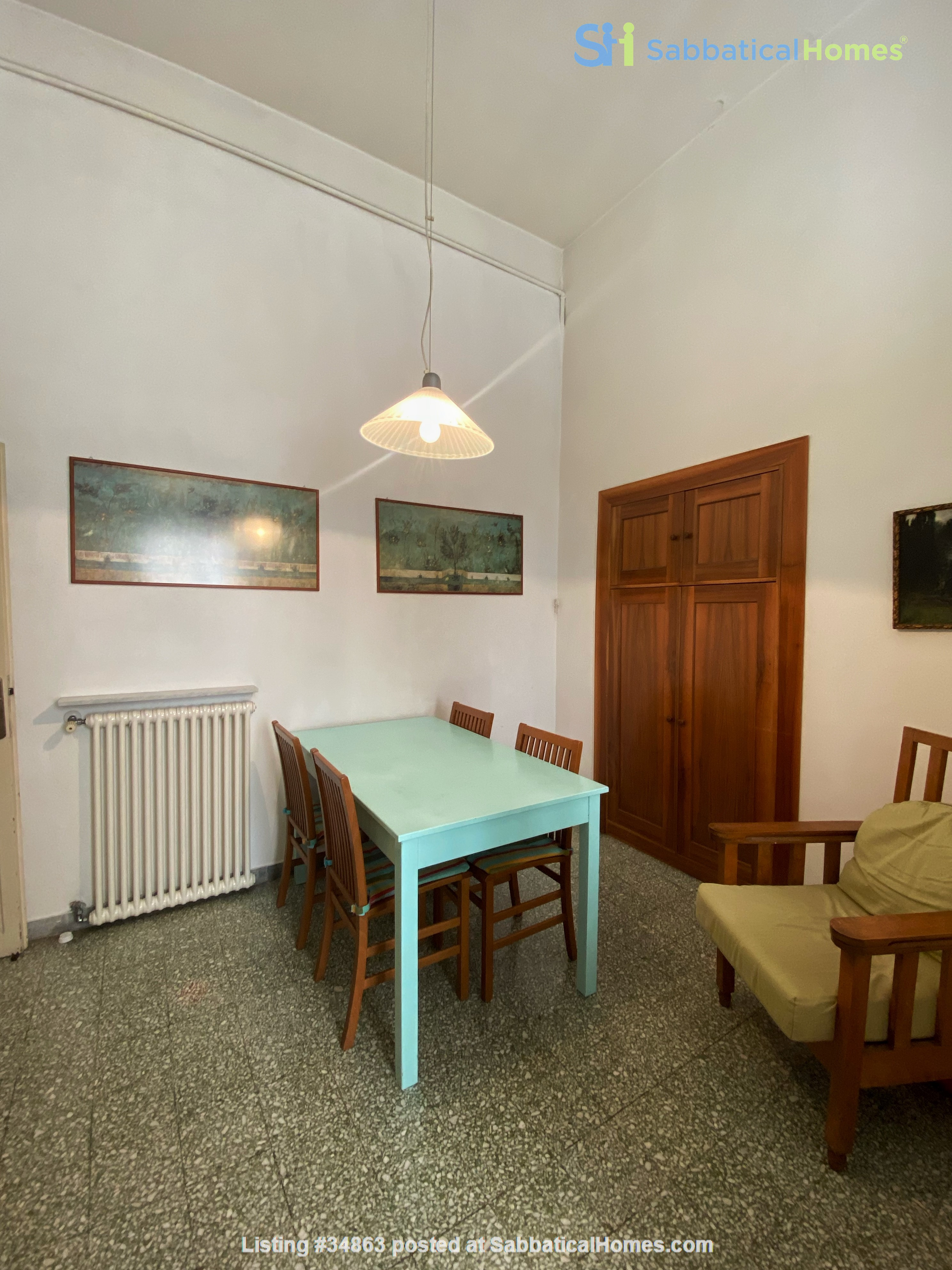 2 BR, 2 BA, spacious and comfortable apartment in Rome, Trastevere Home Rental in Rome 5