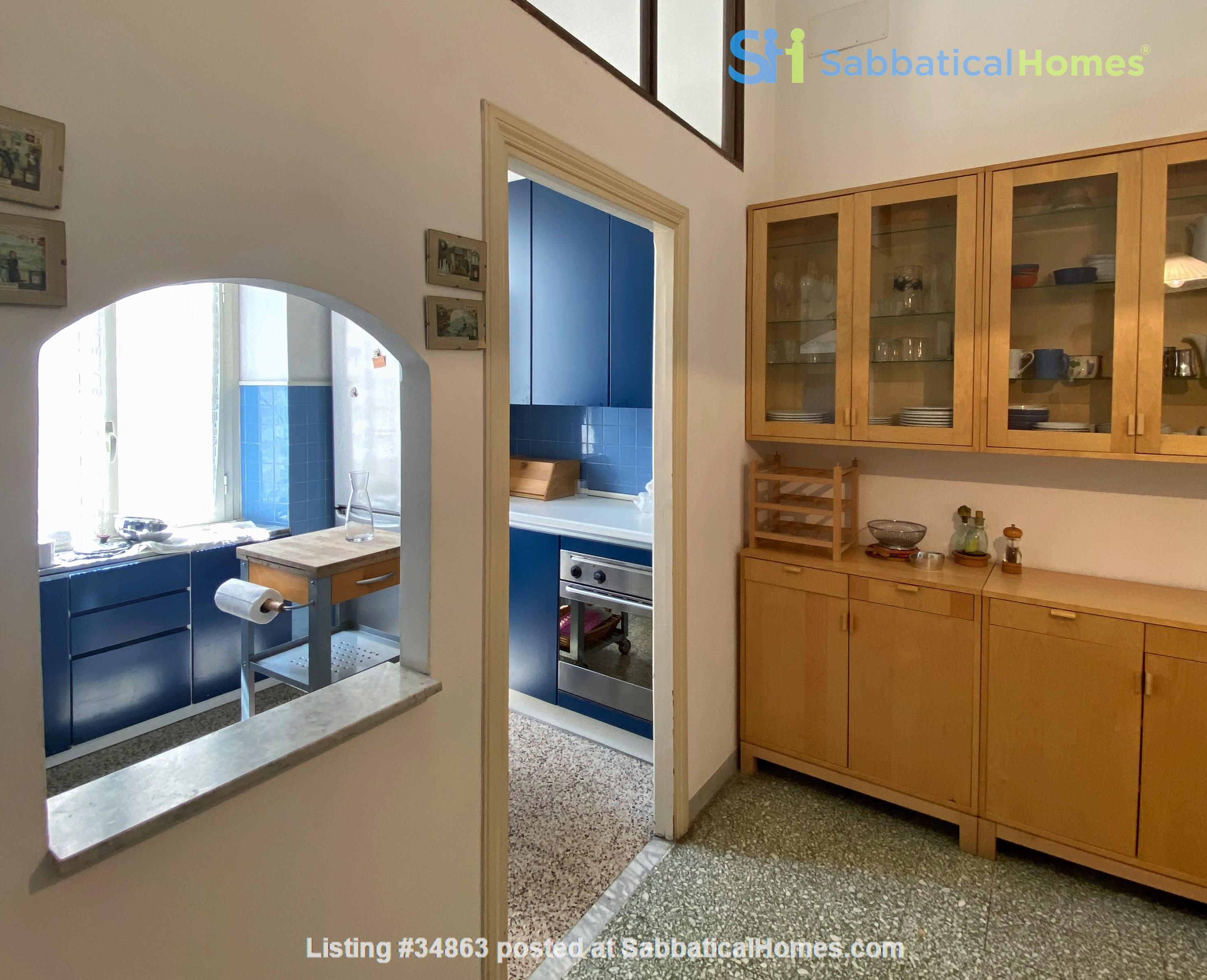 2 BR, 2 BA, spacious and comfortable apartment in Rome, Trastevere Home Rental in Rome 4