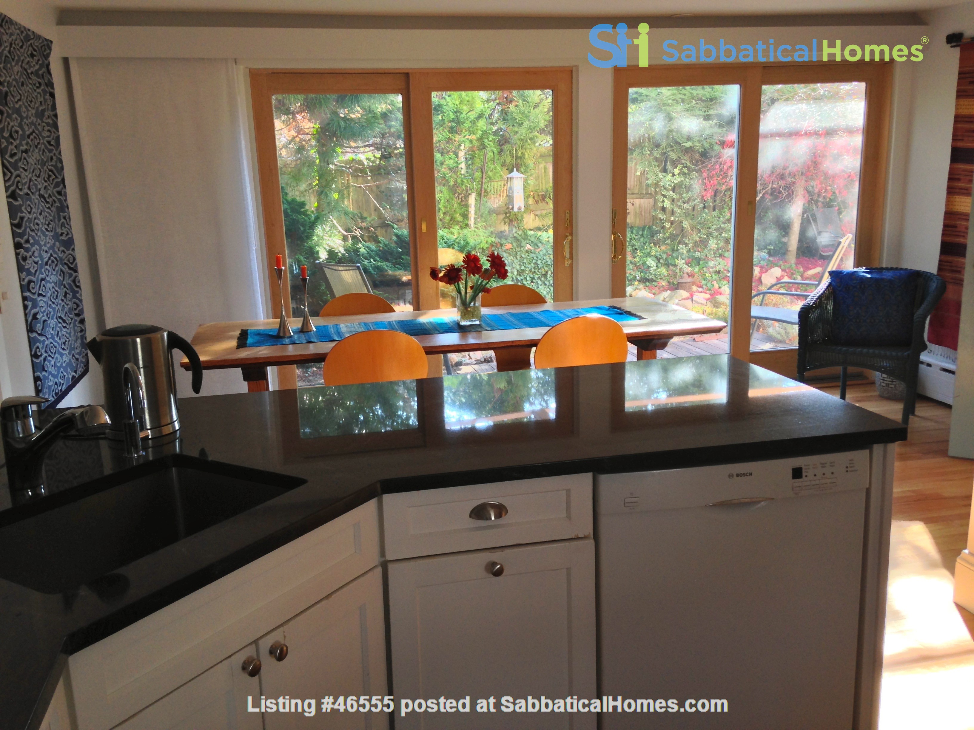 3BR furnished home in Newton on quiet street, next to park - walk to lake Home Rental in Newton, Massachusetts, United States 4