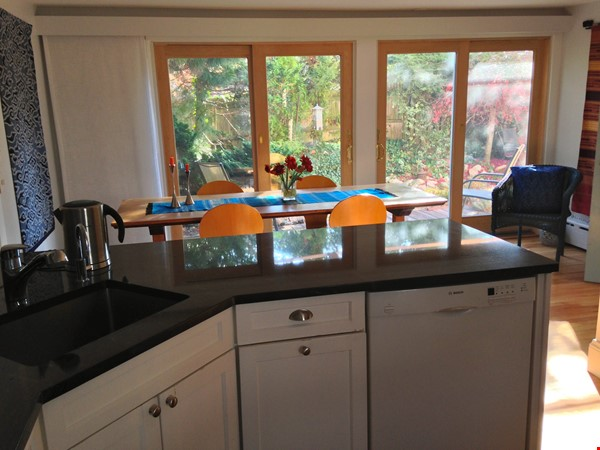 3BR furnished home in Newton on quiet street, next to park - walk to lake Home Rental in Newton 4 - thumbnail