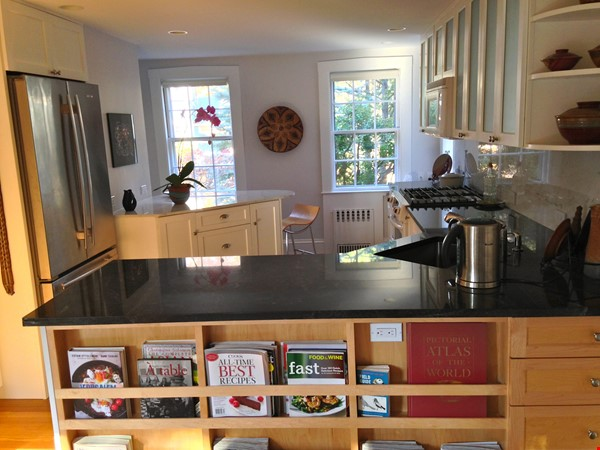 3BR furnished home in Newton on quiet street, next to park - walk to lake Home Rental in Newton 3 - thumbnail