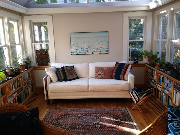 3BR furnished home in Newton on quiet street, next to park - walk to lake Home Rental in Newton 5 - thumbnail