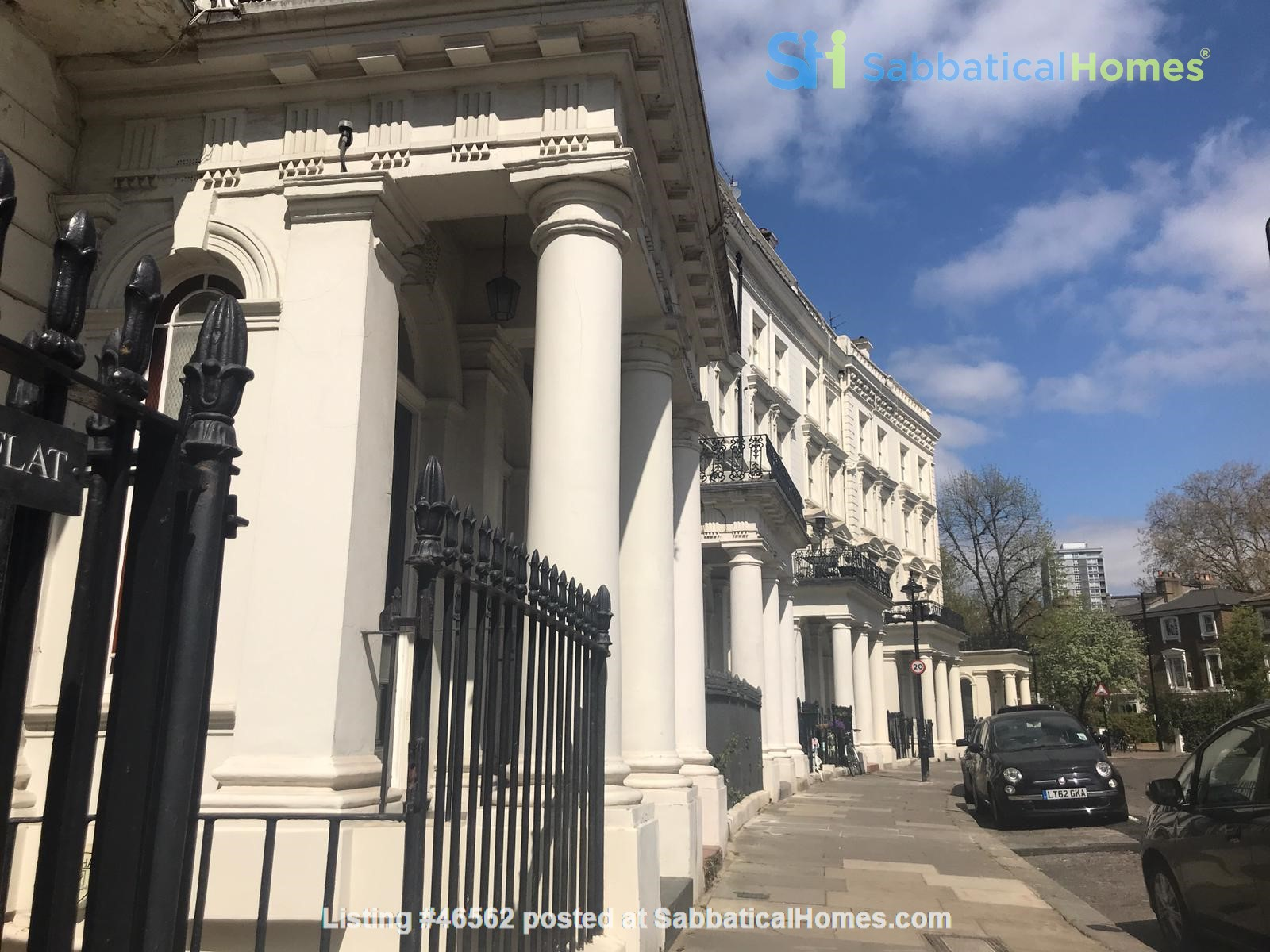 London: Notting Hill - a pretty three-bedroom garden flat on period terrace Home Rental in Greater London, England, United Kingdom 0