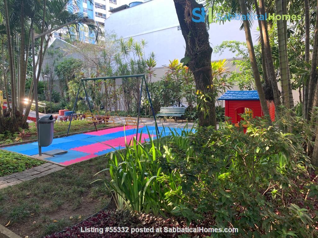 Rio de Janeiro Sunny 2BR apt in garden setting w 24/7 doorman Home Rental in Rio de Janeiro, Rio de Janeiro, Brazil 8