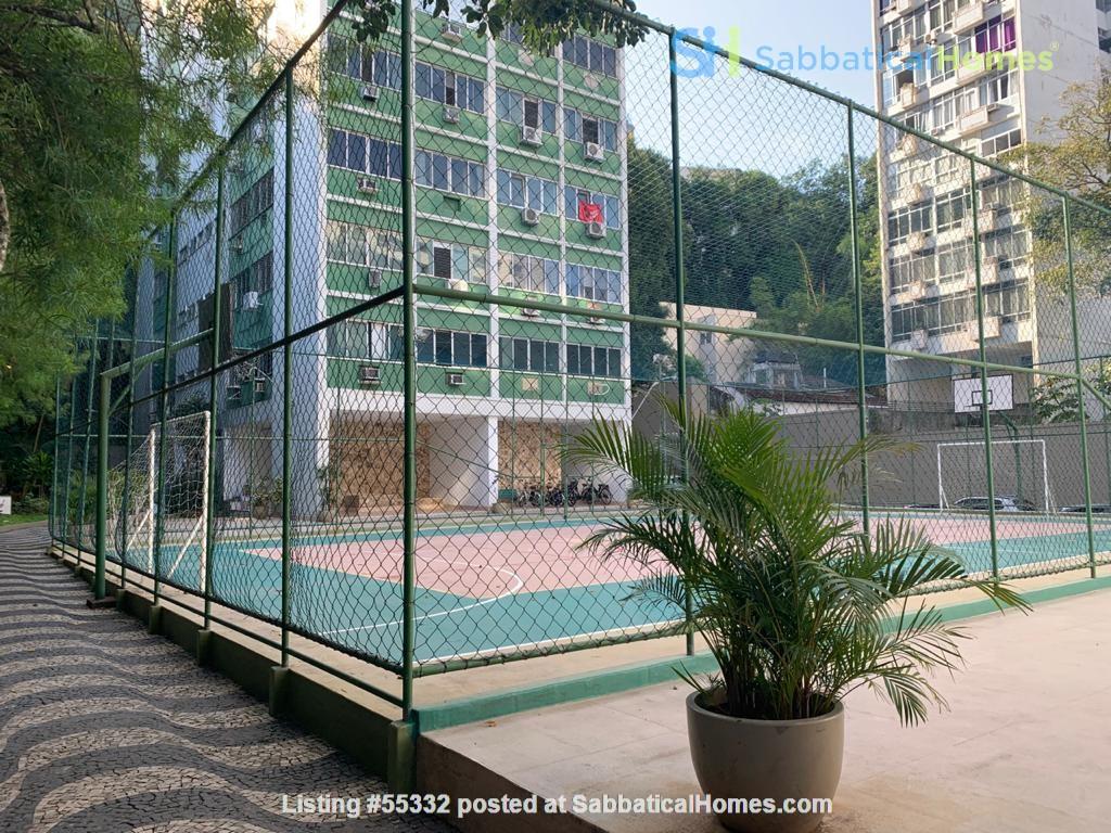 Rio de Janeiro Sunny 2BR apt in garden setting w 24/7 doorman Home Rental in Rio de Janeiro, Rio de Janeiro, Brazil 7