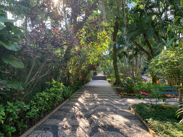 Rio de Janeiro Sunny 2BR apt in garden setting w 24/7 doorman Home Rental in  0 - thumbnail