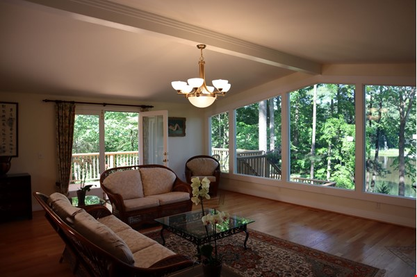 Lakeside living at the heart of lovely Chapel Hill Home Rental in Chapel Hill 2 - thumbnail