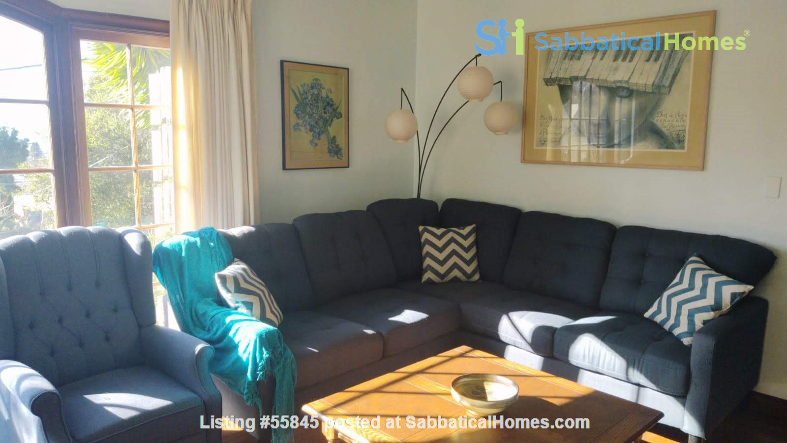 Well-located family home near parks, Gourmet Ghetto, UC Berkeley Home Rental in Berkeley, California, United States 4