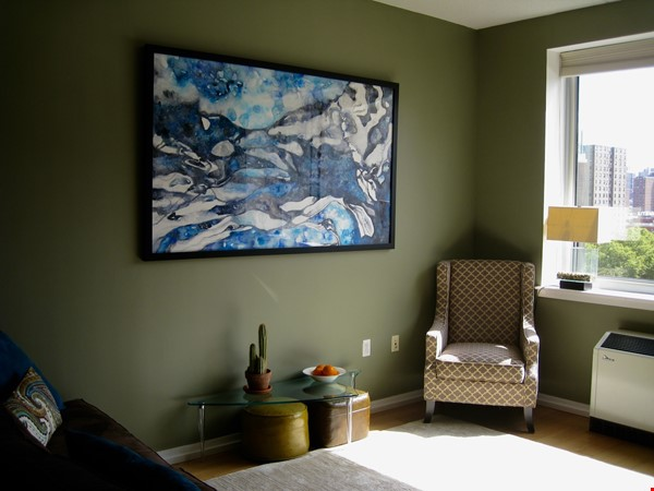 Zen 2BD/2BA Condo in Luxury Building w/Gym, 2 Rooftop Terraces, Harlem NYC Home Rental in New York 4 - thumbnail