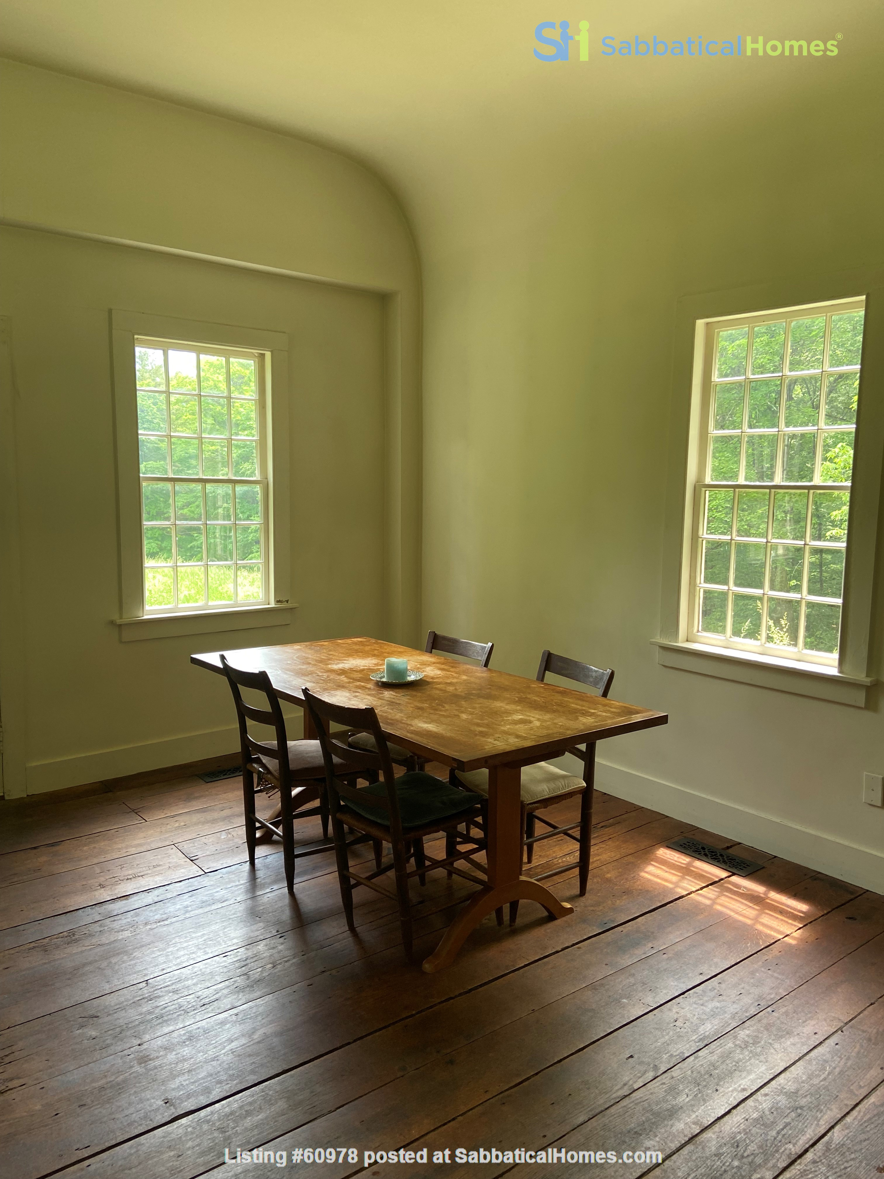 Writer's Retreat -- Idyllic Rural Cabin Home Rental in Cornwall, Connecticut, United States 1