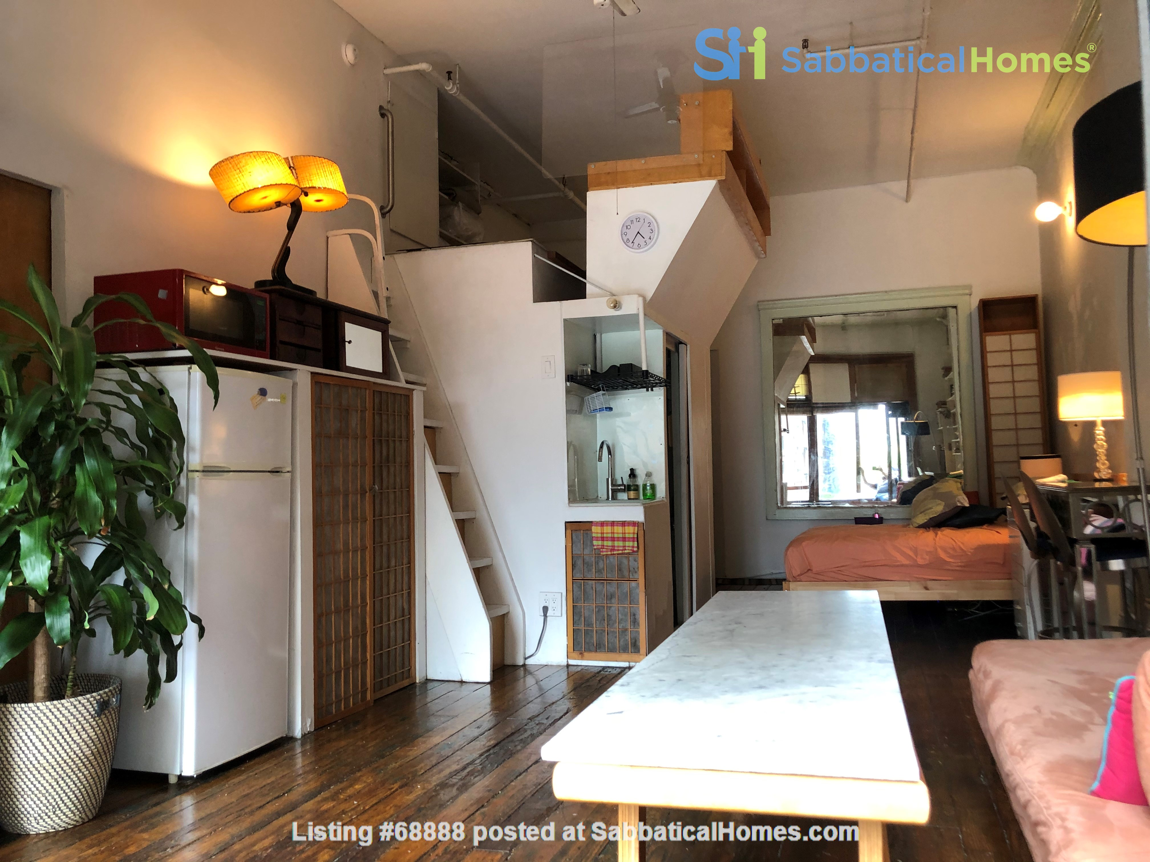 Classic Manhattan Loft w/ view and large outdoor terrace Home Rental in New York, New York, United States 4