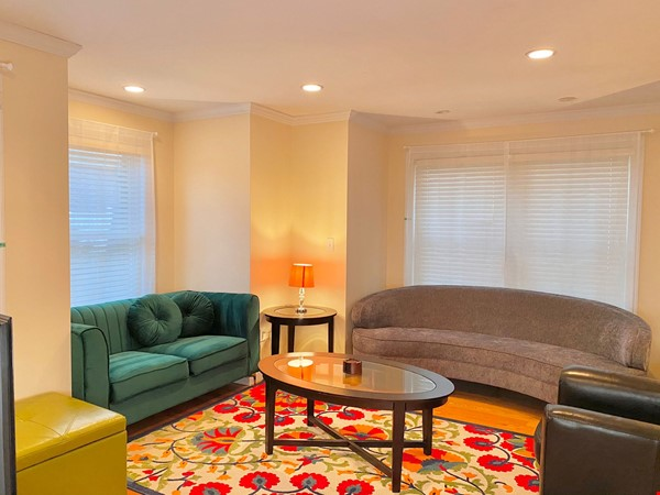 Lovely fully furnished 3 bedroom Townhouse in Brighton-Boston for Rent Home Rental in Boston 1 - thumbnail