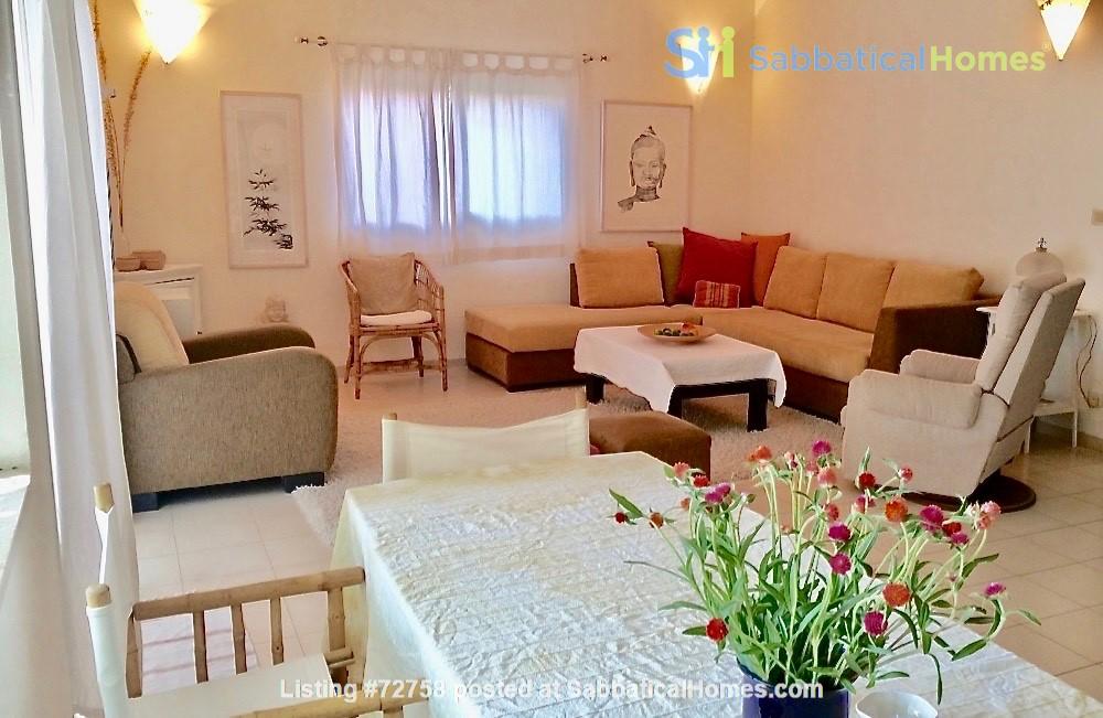 BEAUTIFUL DETACHED 3 Bed VILLA WITH GARDEN short/long let-  ZICHRON YA'AKOV Home Rental in Zikhron Ya'akov 3