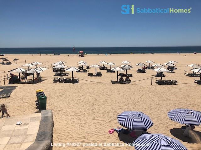 Very sunny apartment in Carcavelos Beach, between Lisbon and Cascais Home Rental in Carcavelos, Lisboa, Portugal 0