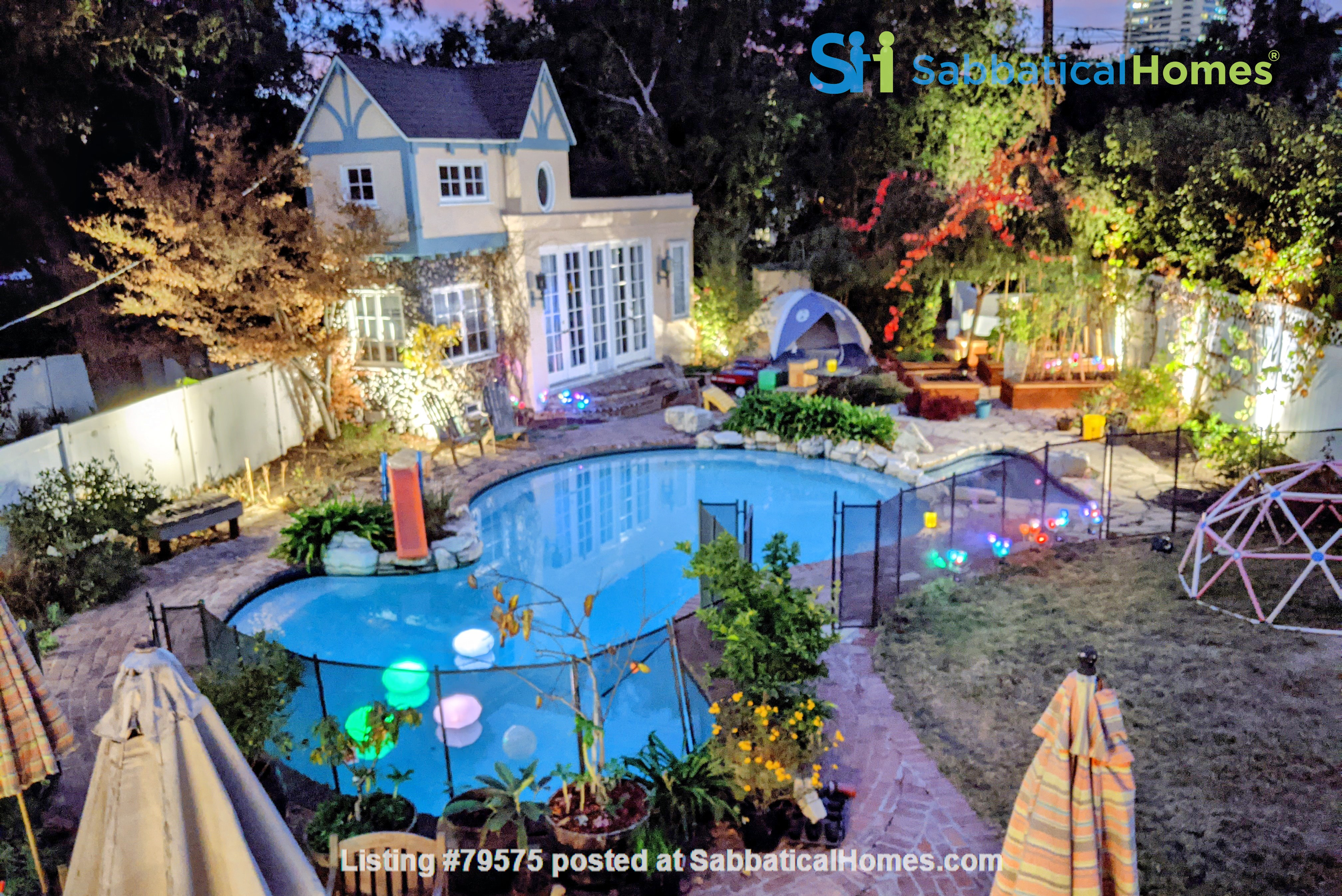 LA furnished home with pool, a/c, 3B3Ba.  Walk to UCLA, BH, Century City Home Rental in Los Angeles, California, United States 0