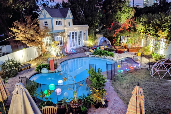 LA furnished home with pool, a/c, 3B3Ba.  Walk to UCLA, BH, Century City Home Rental in Los Angeles 0 - thumbnail