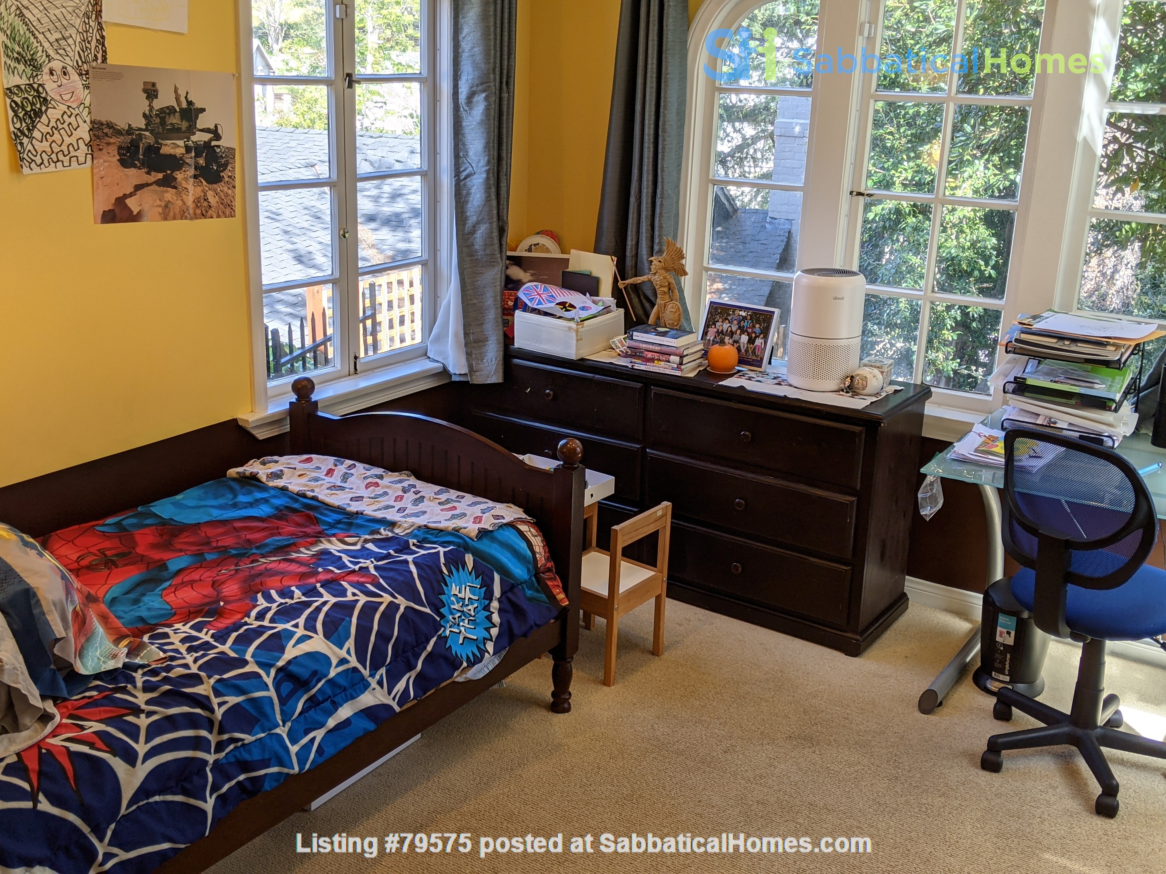 LA furnished home with pool, a/c, 3B3Ba.  Walk to UCLA, BH, Century City Home Rental in Los Angeles, California, United States 4