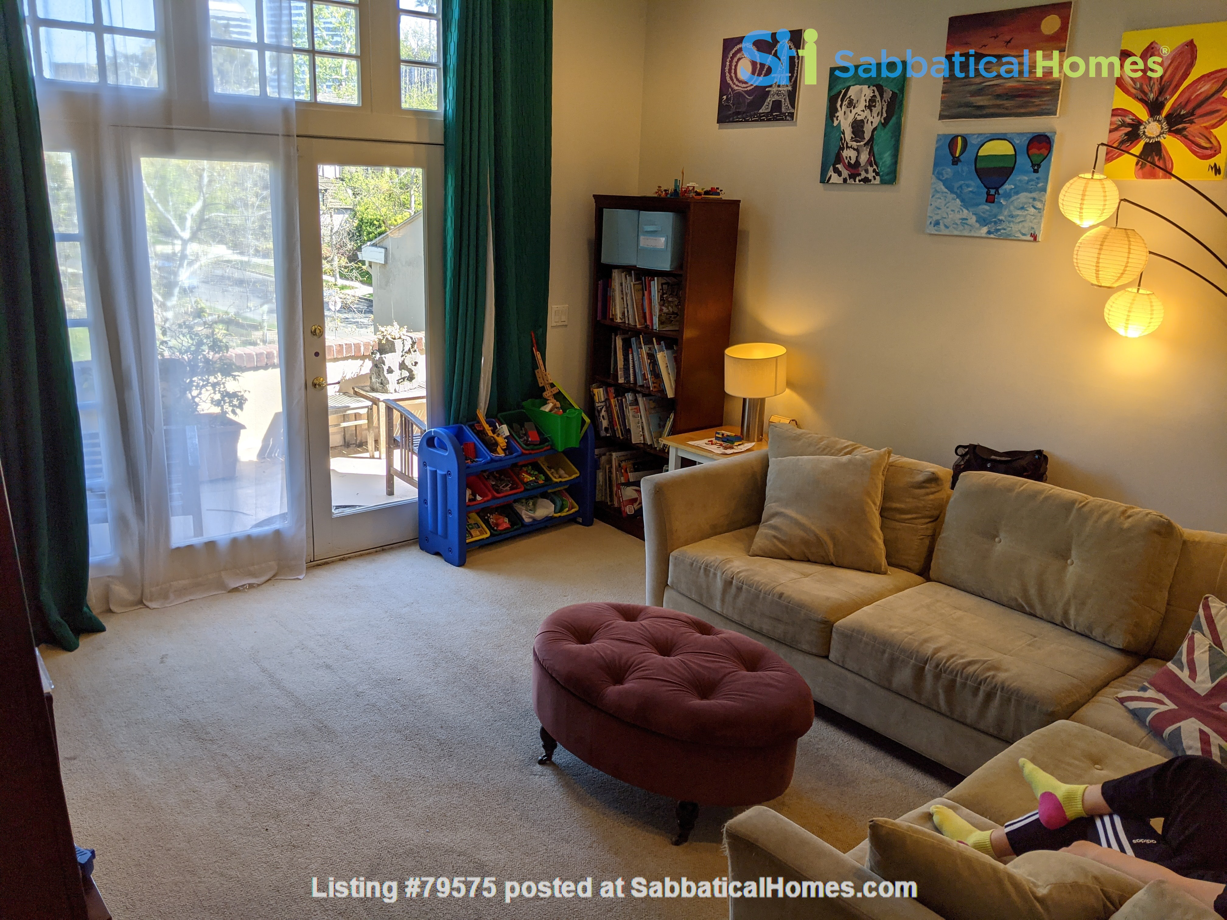LA furnished home with pool, a/c, 3B3Ba.  Walk to UCLA, BH, Century City Home Rental in Los Angeles, California, United States 5