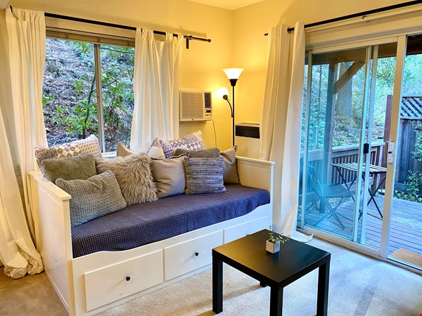 Charming, fully furnished 1BR apartment in Orinda Home Rental in Orinda 1 - thumbnail