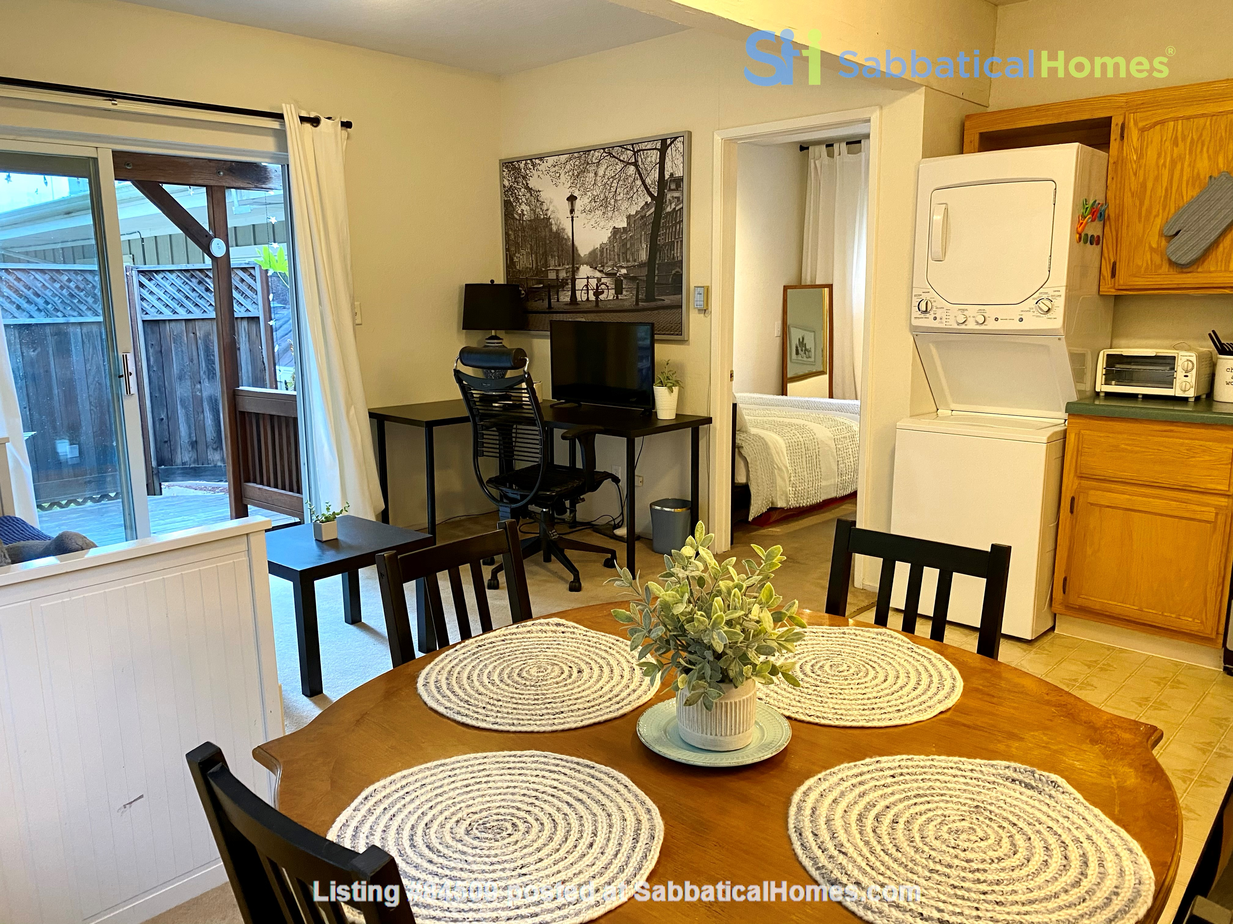 Charming, fully furnished 1BR apartment in Orinda Home Rental in Orinda, California, United States 4