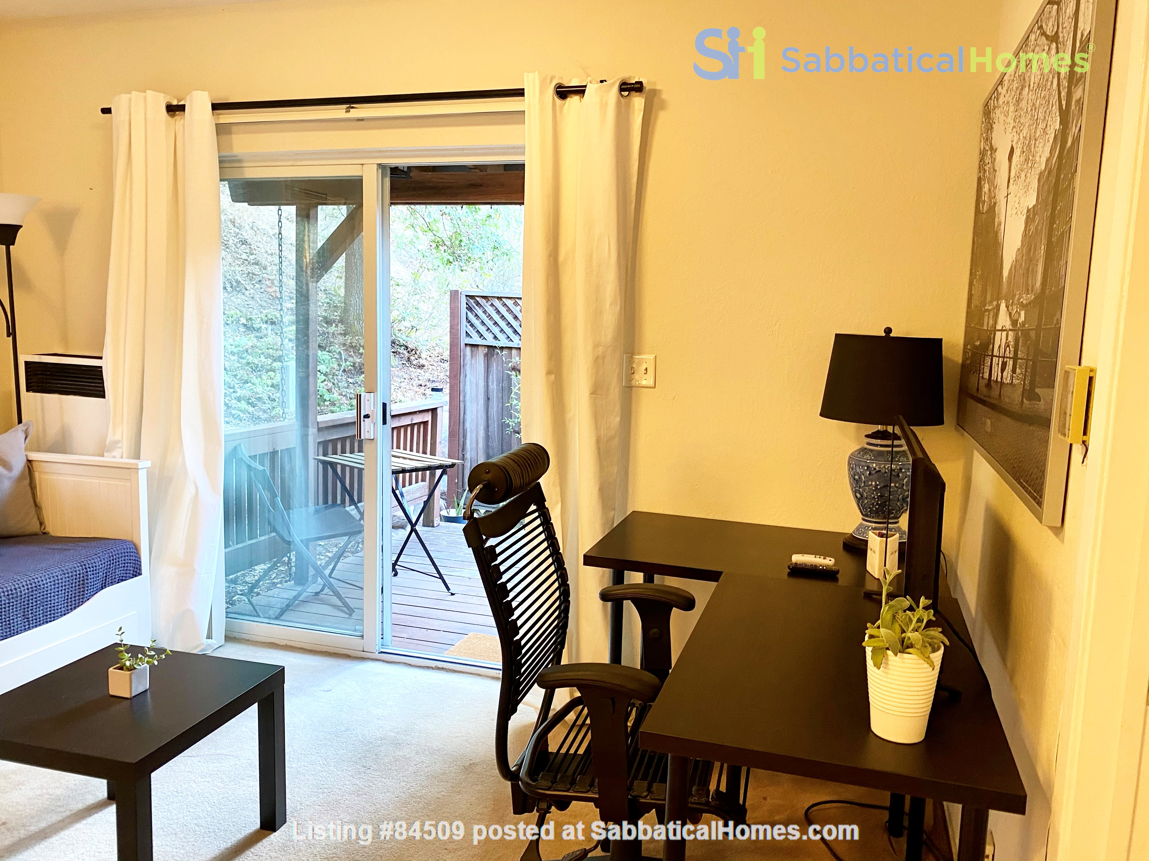 Charming, fully furnished 1BR apartment in Orinda Home Rental in Orinda, California, United States 6