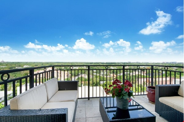 2 BR 2 BA condo in the heart of Coral Gables, FL (Miami) Home Rental in Coral Gables 1 - thumbnail