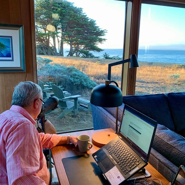 Sea Ranch Abalone Bay Ocean Front Retreat Beckons the Muse Home Rental in Sea Ranch 9 - thumbnail