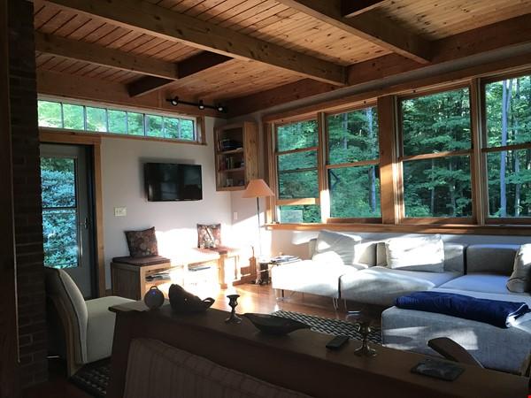 Beautiful, Cozy Vermont Home Home Rental in Starksboro 2 - thumbnail