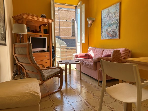 Colors of Testaccio, well-lit and terraced apartment in Rome Home Rental in Rome 1 - thumbnail