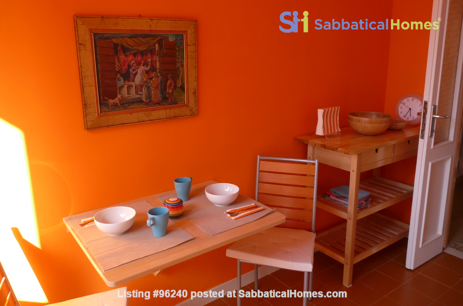 Colors of Testaccio, well-lit and terraced apartment in Rome Home Rental in Rome, Lazio, Italy 5