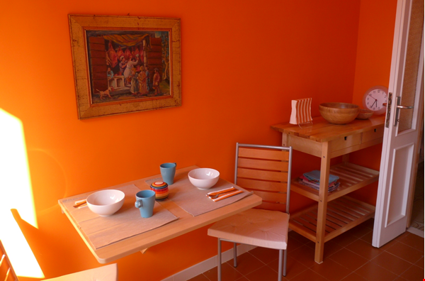 Colors of Testaccio, well-lit and terraced apartment in Rome Home Rental in Rome 5 - thumbnail