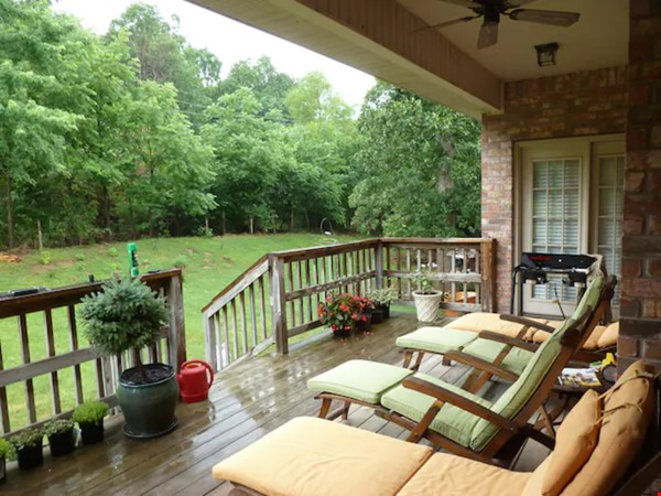 well-appointed 3000 sqft tranquil home with a view of Boston Mountains Home Rental in Fayetteville 8 - thumbnail