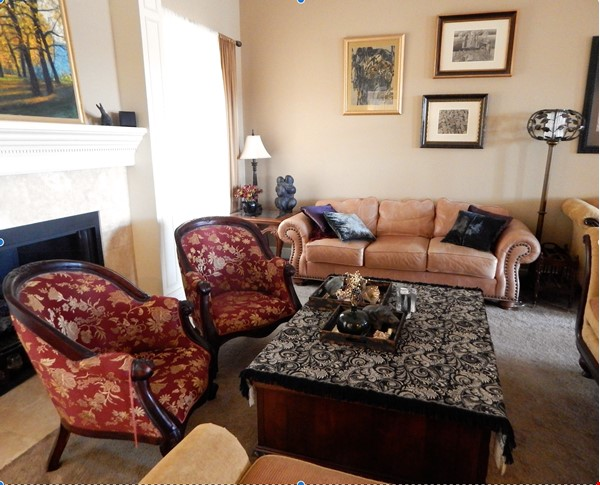 well-appointed 3000 sqft tranquil home with a view of Boston Mountains Home Rental in Fayetteville 1 - thumbnail