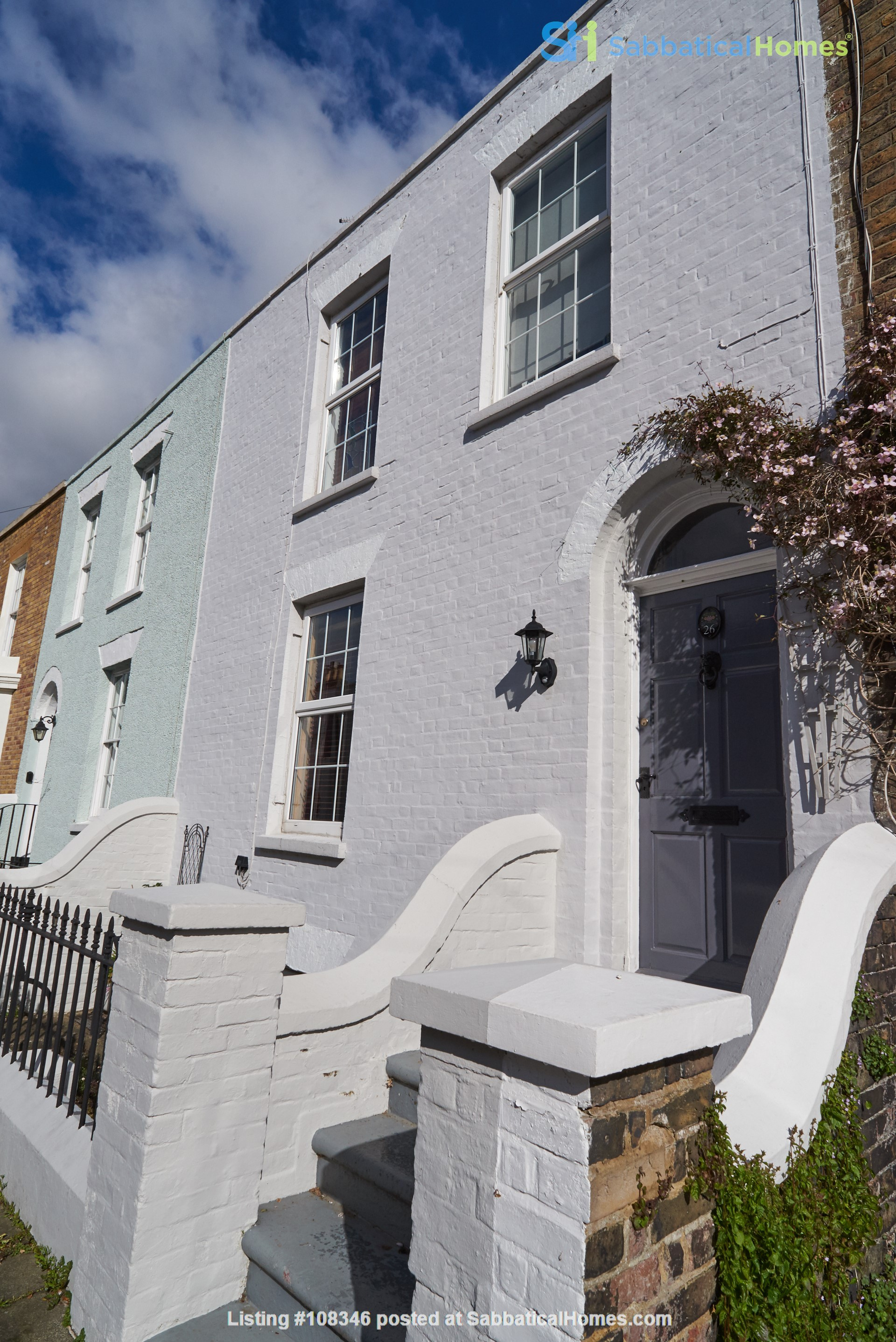 Georgian seaside townhouse with garden, perfect for Golf Open Championship Home Rental in Kent, England, United Kingdom 1