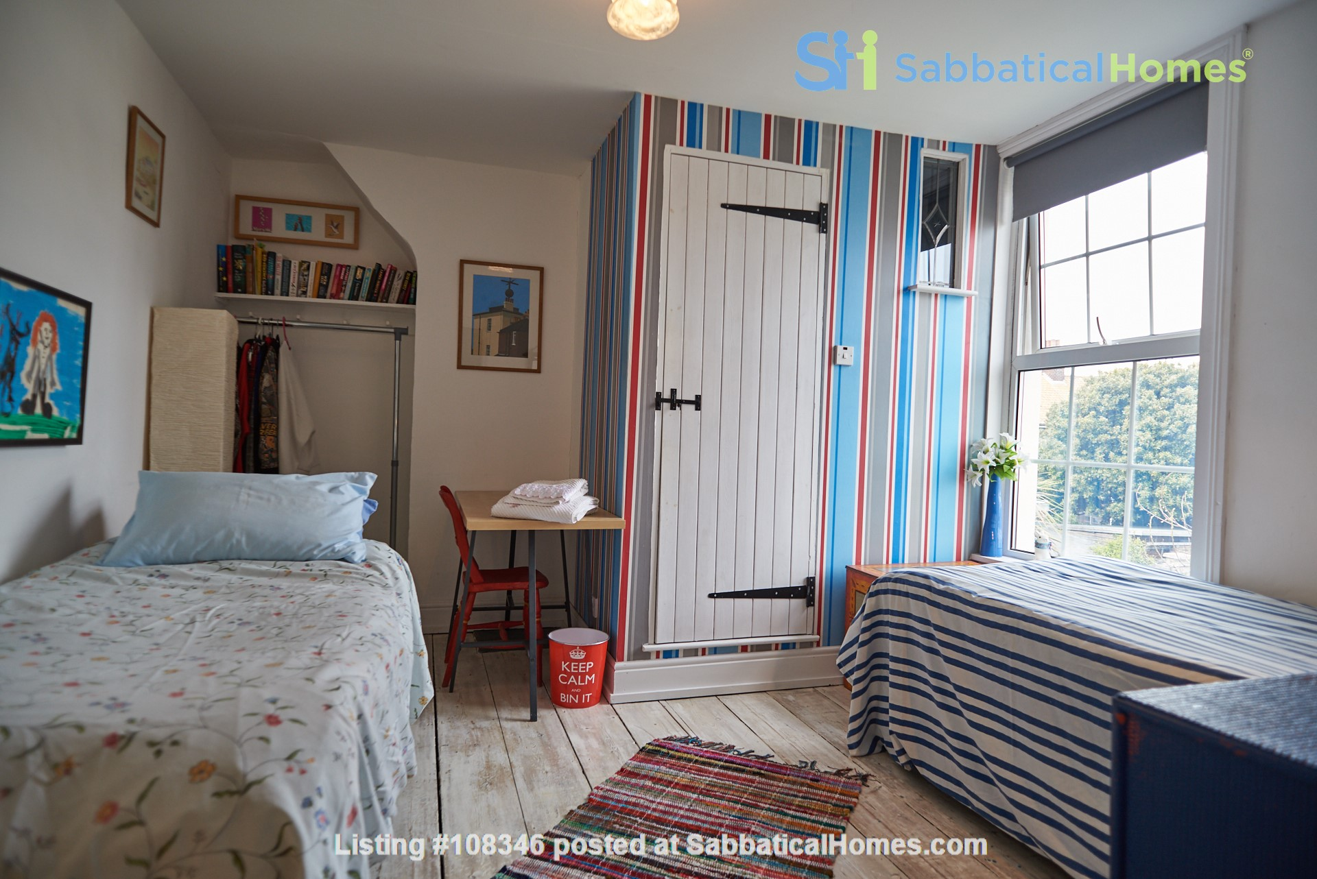 Georgian seaside townhouse with garden, perfect for Golf Open Championship Home Rental in Kent, England, United Kingdom 2