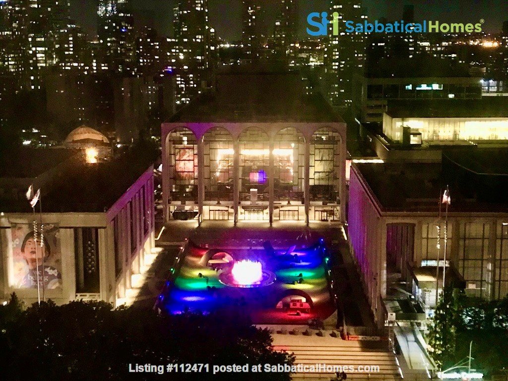 1BR apartment with fantastic view of Lincoln Center; Upper West Side Home Rental in New York, New York, United States 0