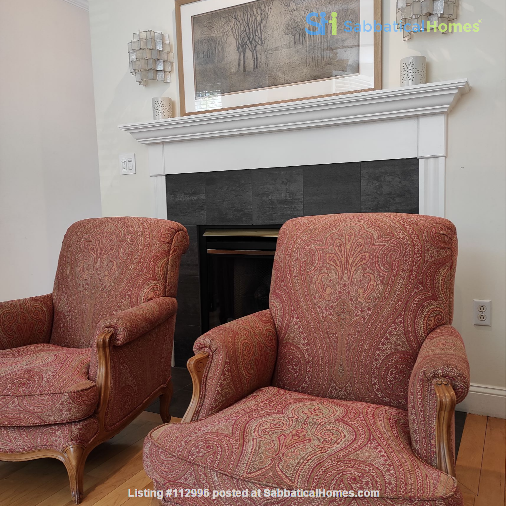 Beautiful Summer Rental 2 bedrms 3 baths + study + deck.  Cleaning included Home Rental in Cambridge, Massachusetts, United States 0