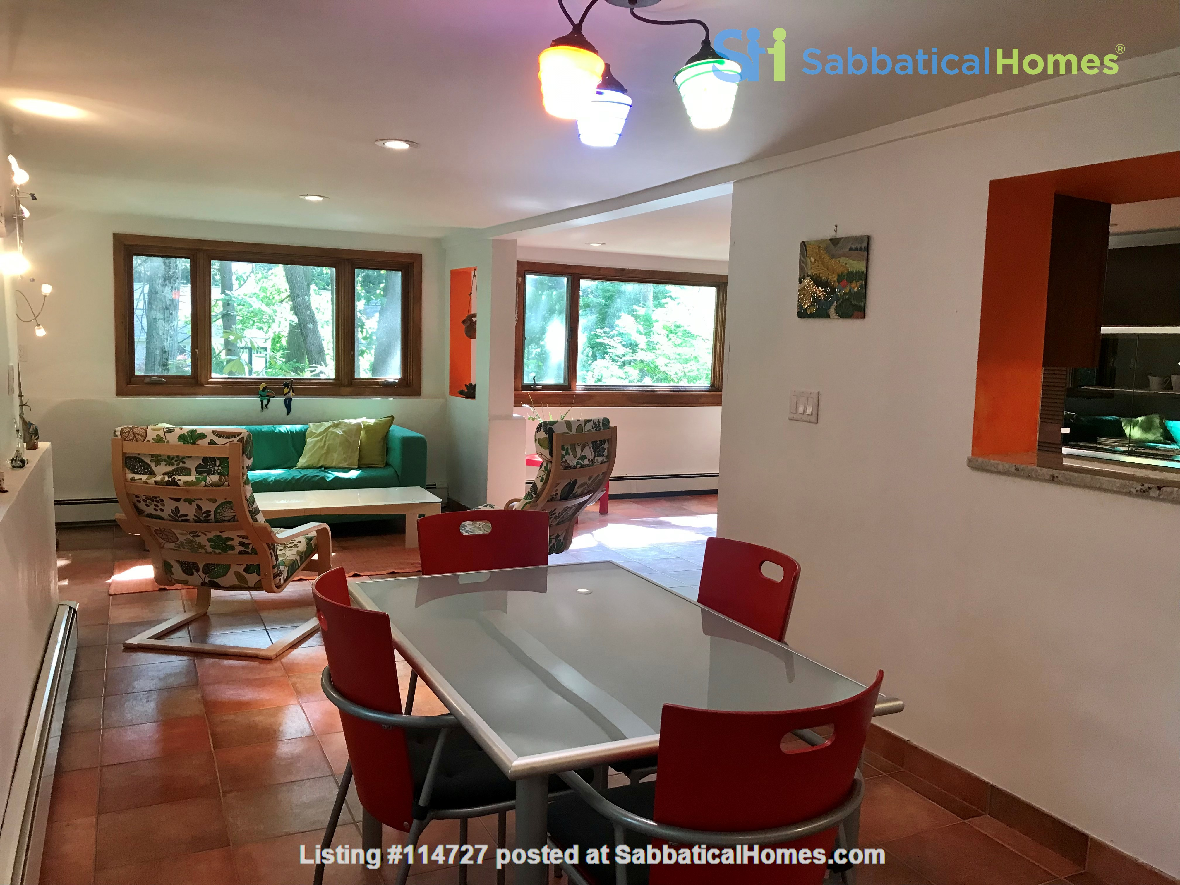 Newly furn &built 2 BR 1025 sq ft apt w/utlts in lux home in Winchester, Ma Home Rental in Winchester, Massachusetts, United States 1
