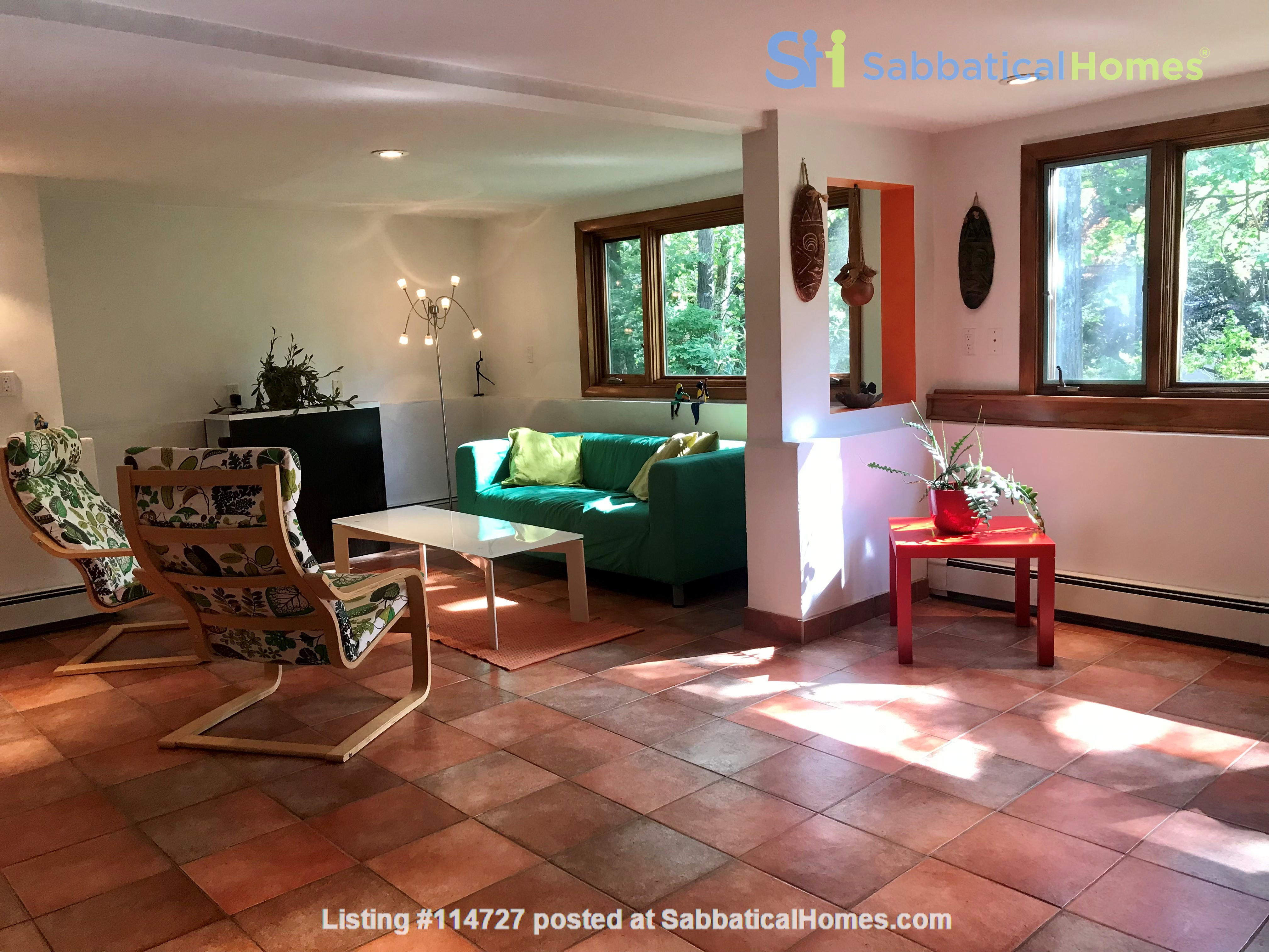 Newly furn &built 2 BR 1025 sq ft apt w/utlts in lux home in Winchester, Ma Home Rental in Winchester, Massachusetts, United States 0