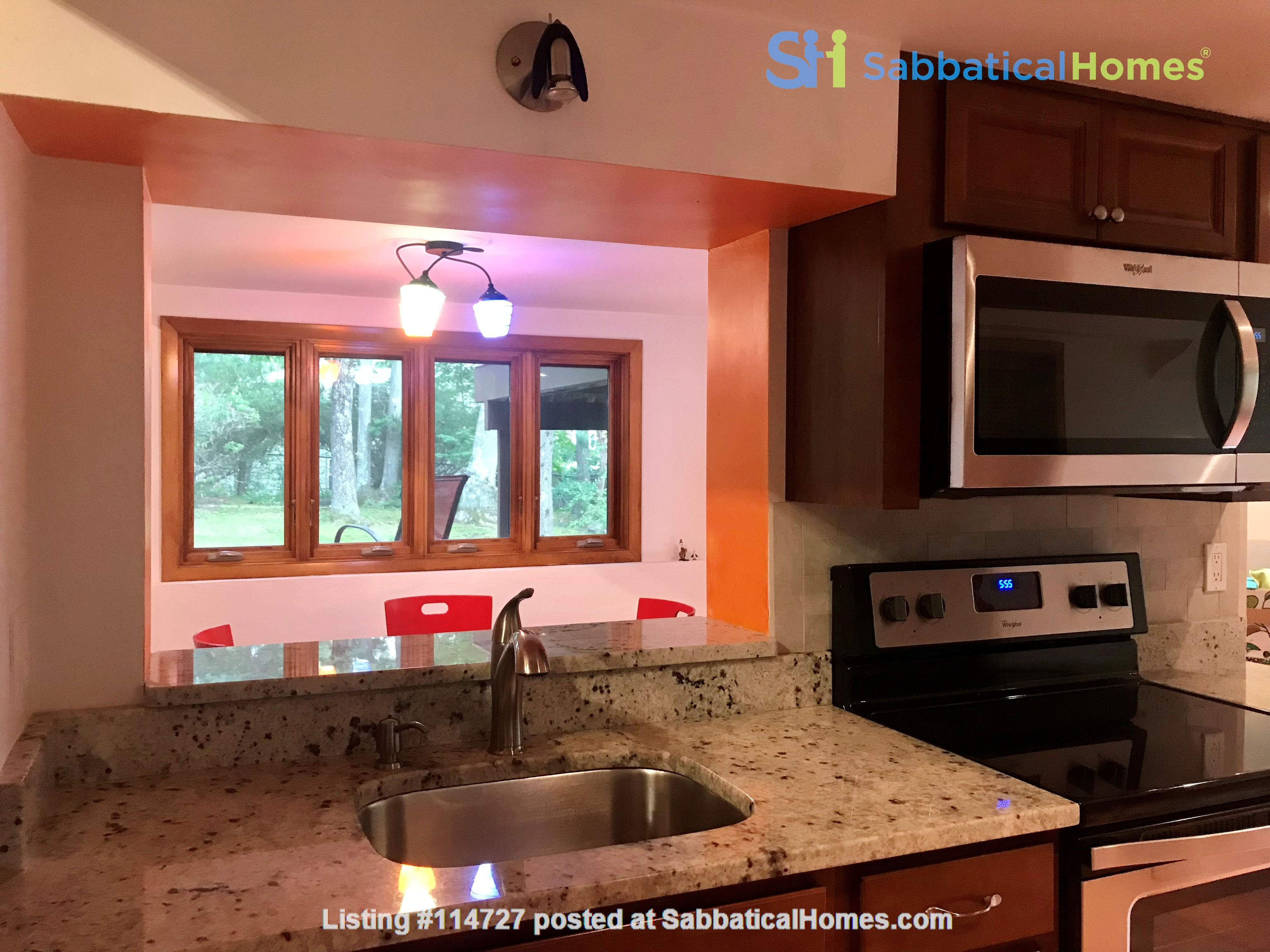 Newly furn &built 2 BR 1025 sq ft apt w/utlts in lux home in Winchester, Ma Home Rental in Winchester, Massachusetts, United States 3
