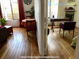 Charming Parisian Apartment  (near a  PARK) Home Rental in Paris, Île-de-France, France 2