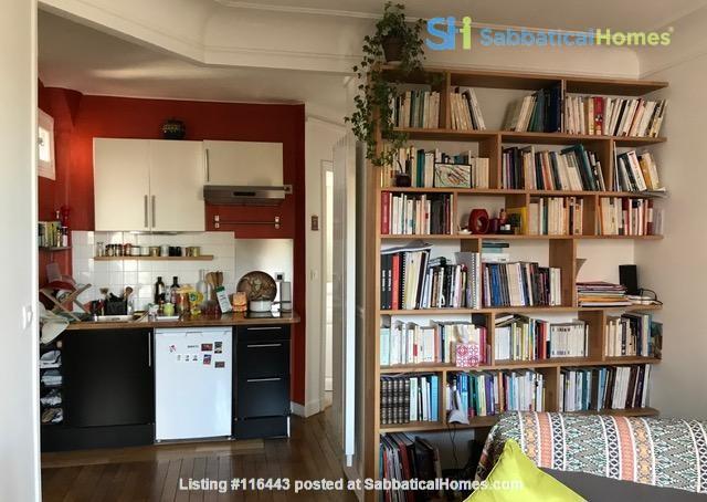 Charming Parisian Apartment  (near a  PARK) Home Rental in Paris, Île-de-France, France 3