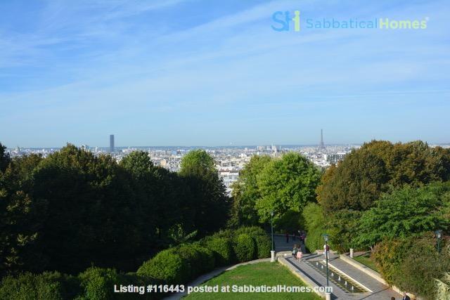 Charming Parisian Apartment  (near a  PARK) Home Rental in Paris, Île-de-France, France 9