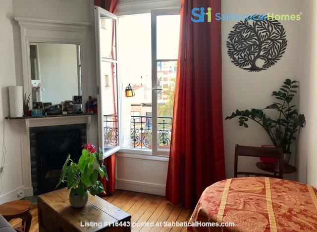 Charming Parisian Apartment  (near a  PARK) Home Rental in Paris, Île-de-France, France 0