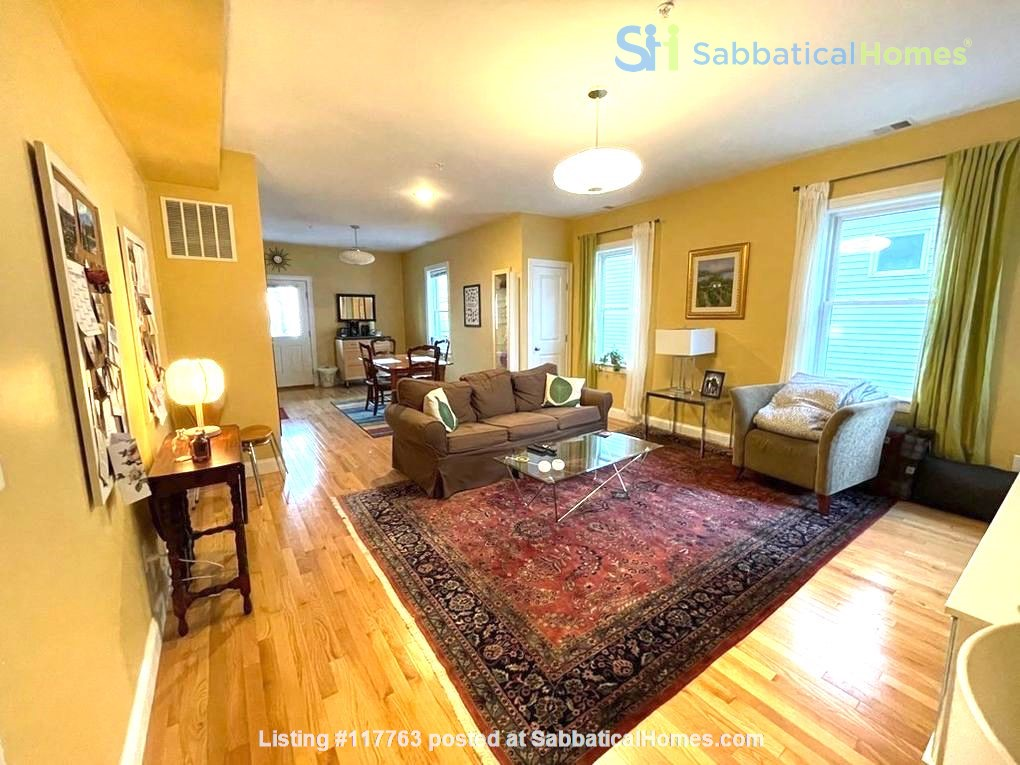 Turn-key, fully furnished 1 bedroom w/large office, includes ALL utilities Home Rental in Somerville, Massachusetts, United States 0