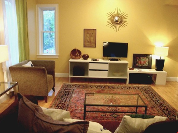 Turn-key, fully furnished 1 bedroom w/large office, includes ALL utilities Home Rental in Somerville 1 - thumbnail